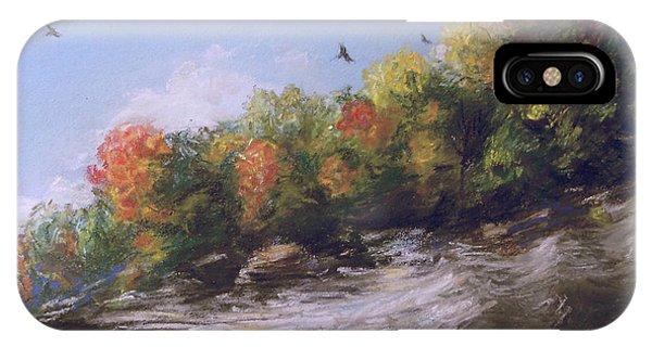 Soaring Over The North Rim, Autumn IPhone Case