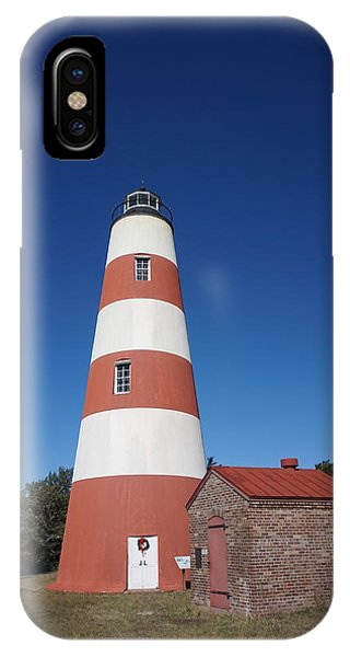 iPhone Case - Sapelo Island Lighthouse by Red Cross