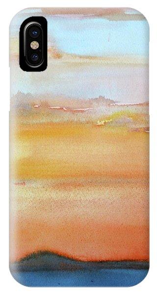 Sapphire Sunrise Autumn IPhone Case
