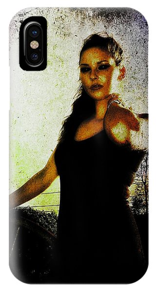 Sarah 1 IPhone Case