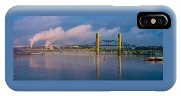 Sarah Long Bridge At Dawn IPhone Case