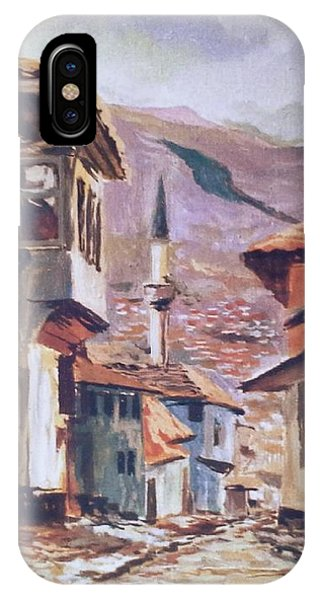 Sarajevo Old Town IPhone Case