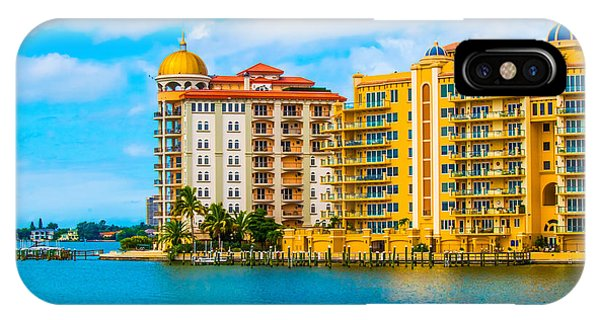 Sarasota Architecture IPhone Case