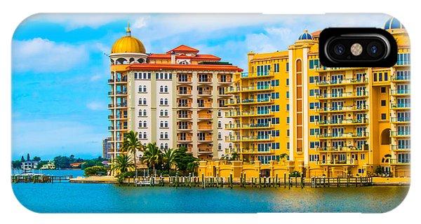 Sarasota Architecture IPhone Case