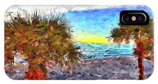 Sarasota Beach Florida IPhone Case