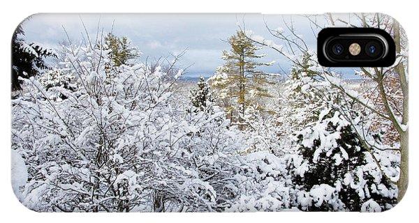 Saratoga Winter Scene IPhone Case
