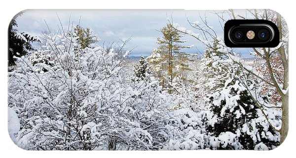 Saratoga Winter Scene IPhone Case