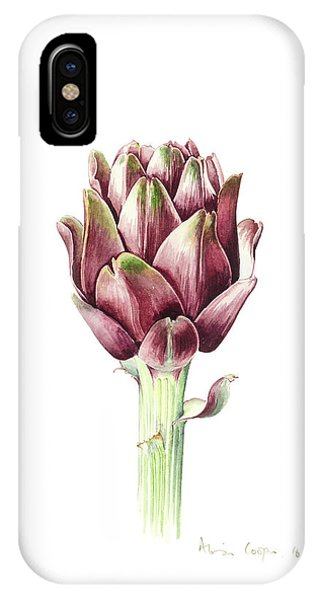 Vegetables iPhone Case - Sardinian Artichoke by Alison Cooper