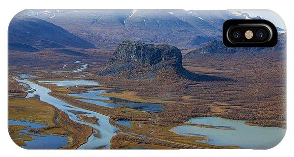 Sarek Nationalpark IPhone Case