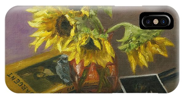Sargent And Sunflowers IPhone Case