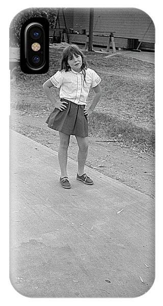 Sassy Girl, 1971 IPhone Case