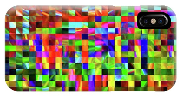 Satin Tiles IPhone Case