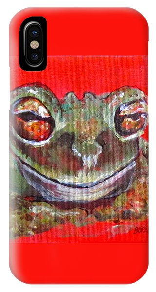 Satisfied Froggy  IPhone Case