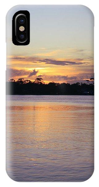 Saturday At Sundown IPhone Case