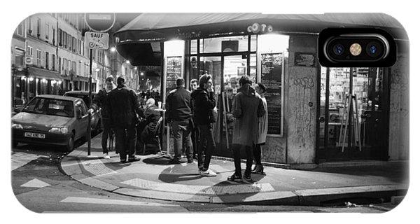 Saturday Evening In Paris IPhone Case