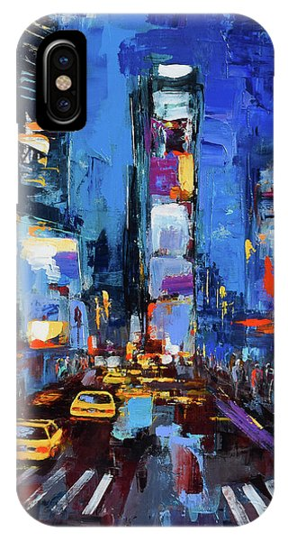 Saturday Night In Times Square IPhone Case
