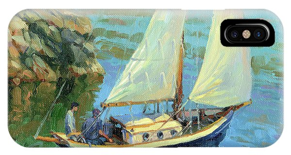 Sailboat iPhone Case - Saturday by Steve Henderson