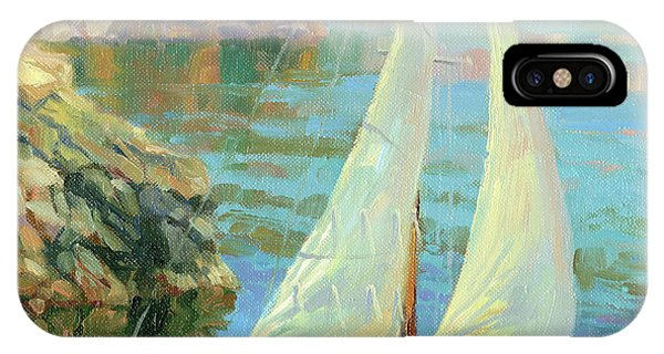 Port Townsend iPhone Case - Saturday by Steve Henderson