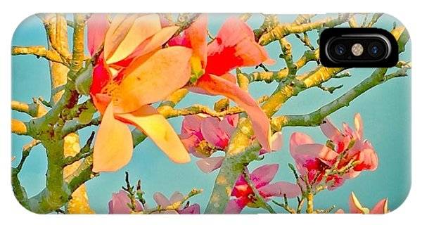 Saucer Magnolia IPhone Case