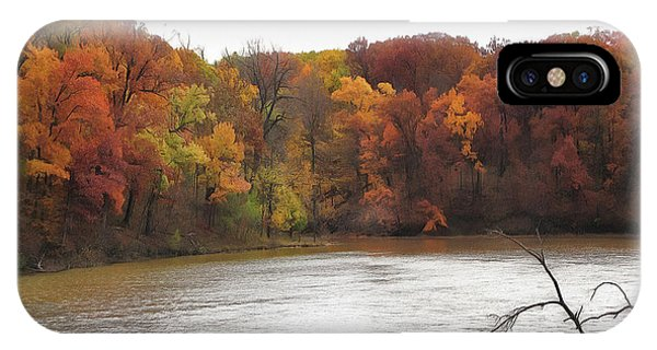 Sauk Lake Autumn IPhone Case