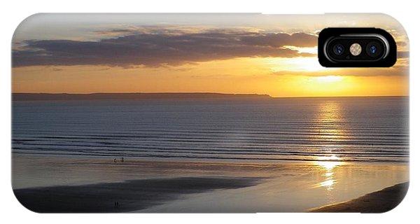 Saunton Sands Sunset IPhone Case