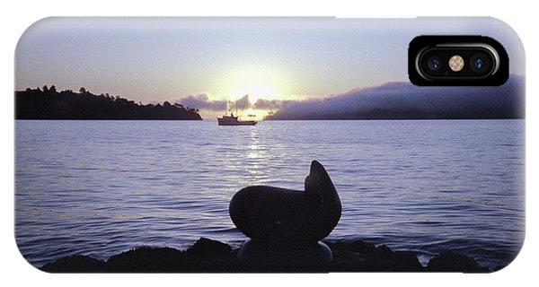 Sausalito Morning IPhone Case