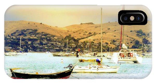 Sausalito Sailboats IPhone Case
