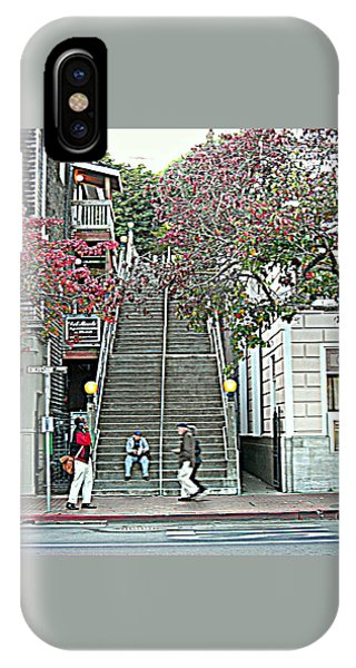 Sausalito Stairs IPhone Case