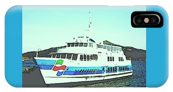 Sausalito Tour Boat IPhone Case