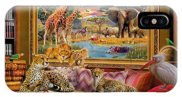 Cheetah iPhone Case - Savannah Coming To Life by Jan Patrik Krasny