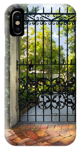 Savannah Gate II IPhone Case