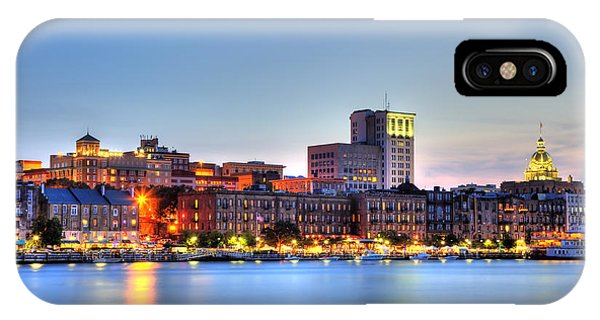 Savannah Skyline IPhone Case