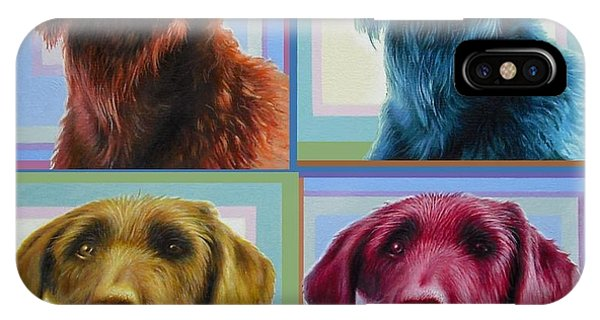 Savannah The Labradoodle IPhone Case