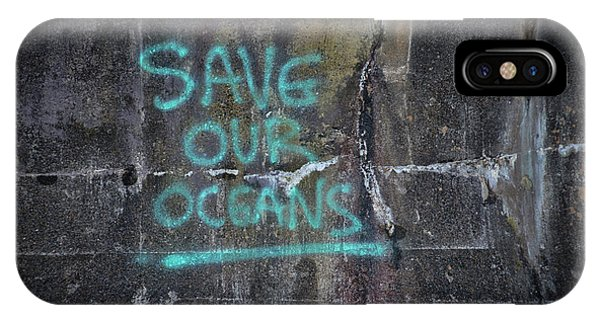 Save Our Oceans IPhone Case