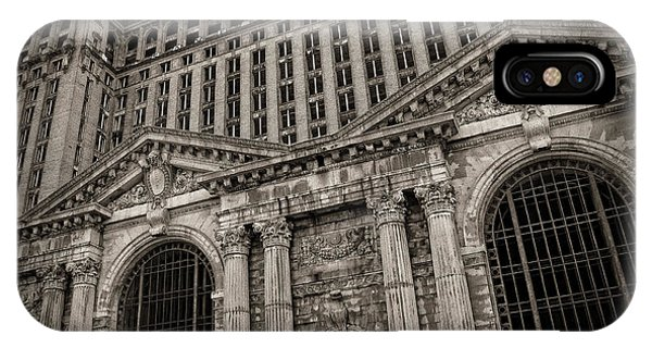 Save The Depot - Michigan Central Station Corktown - Detroit Michigan IPhone Case