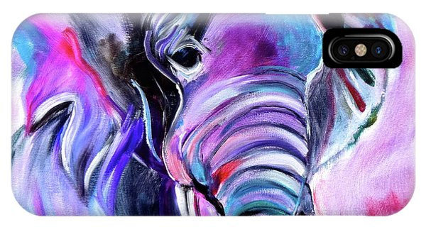 Save The Elephants IPhone Case