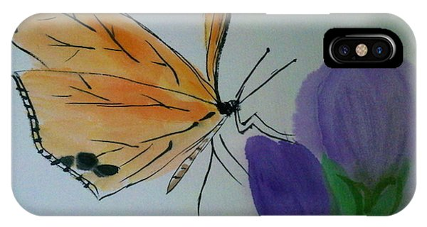 Save The Monarchs IPhone Case