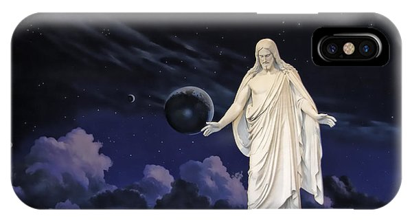 Savior Of The World IPhone Case