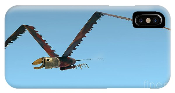 Saw Bird -raptor IPhone Case