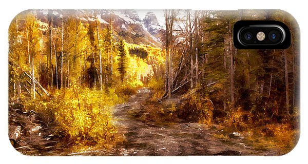 Sawmill Road IPhone Case