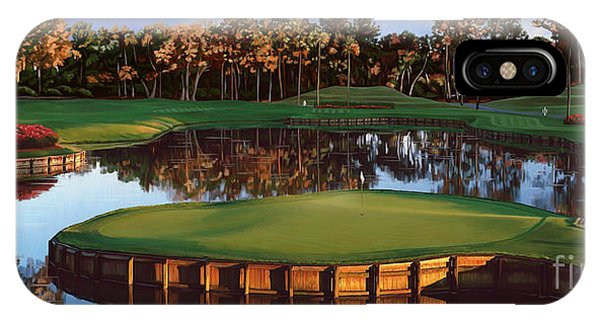 Sawgrass 17th Hole Hol IPhone Case