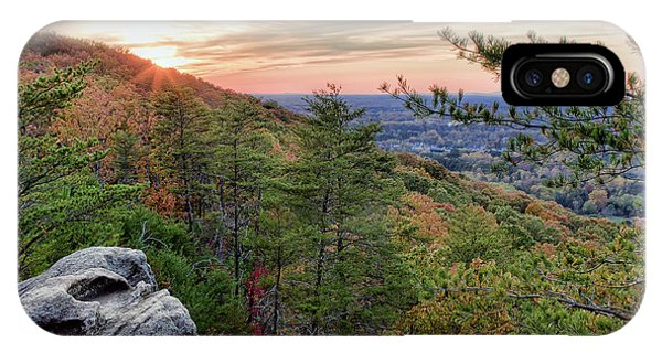 Sawnee Mountain And The Indian Seats IPhone Case