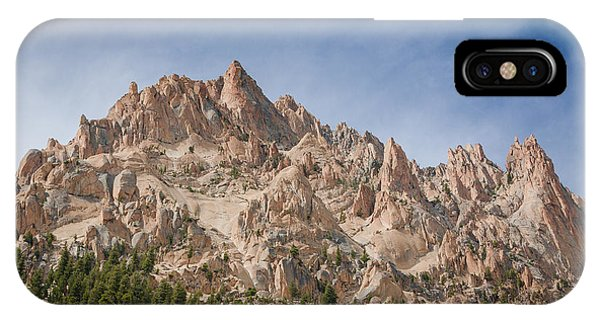 Sawtooth Mountains IPhone Case