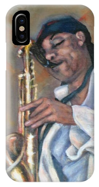 Sax And Linen IPhone Case