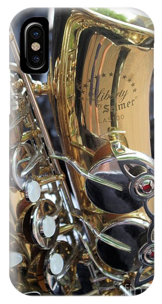 Sax In The City IPhone Case