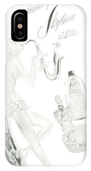 IPhone Case featuring the digital art Sax Girl by ReInVintaged