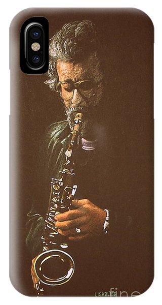 Saxophonist IPhone Case