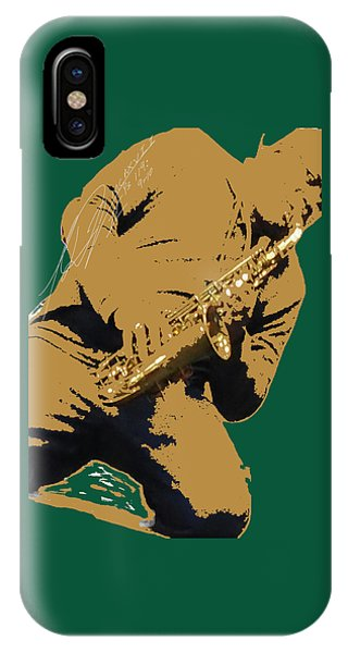 Saxual Passion IPhone Case