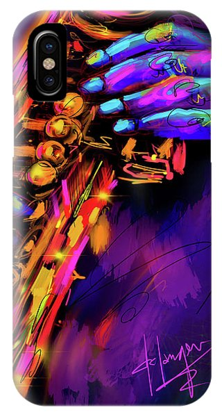 Saxy Hands IPhone Case