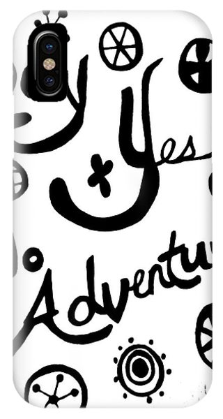 Say Yes To Adventures IPhone Case